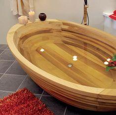 Деревянная ванна - эксклюзив в вашей ванной #Ванна, созданная из дерева, всегда выглядит эксклюзивно и довольно богато. Люди, принимающие водные процедуры в деревянных ваннах, имеют большое представление о том, как хорошо в них можно расслабляться. #сантехника ✌ http://santehnika-tut.ru/catalog/