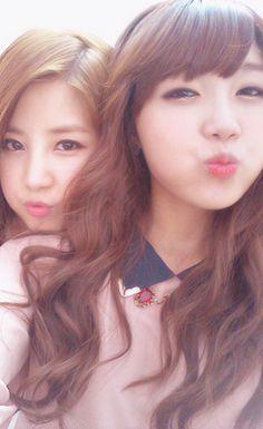 ChoRong and EunJi