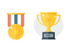 Trophy / Medal icons