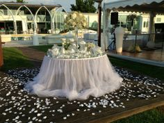 Confettata Wedding Table Linens, Dream Wedding, Wedding Day, Cake Table, Dessert Table, Wedding Decorations, Table Decorations, Sweetheart Table, Wedding Wishes
