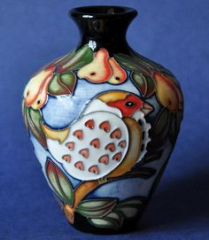 Moorcroft Pottery Partridge in a Pear Tree 03/4 Kerry Goodwin Open Edition http://www.bwthornton.co.uk/moorcroft.php