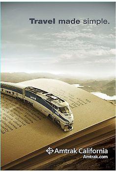 Amtrak California ~ love this. :)