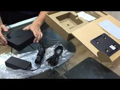 Dell Chromebox unboxing - Chrome OS player for digital signage