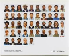 The innocents / photographs and interviews by Taryn Simon ; commentary by Peter Neufeld and Barry Scheck of the Innocence Project. Special Library, Innocence Project, Civil Rights Attorney, American Library Association, Restorative Justice, Link Art, Venice Biennale, Dna Test, We The People