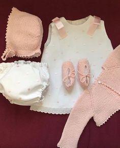 Pique y bodoques rosa bebe
