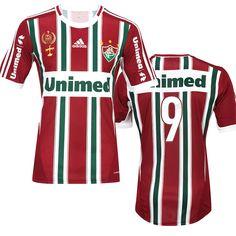 8846827b04817 Flu Boutique Online   Produto   Camisa do Fluminense IV Adidas 2012 – 2013  Tricolor c  nº 9 Personalizável
