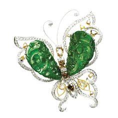 Jade Butterfly Brooch - Brooch Products | HKTDC