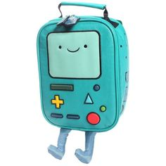Adventure Time Beemo Insulated Lunchbox ($28) ❤ liked on Polyvore featuring home, kitchen & dining, food storage containers and lunch boxes
