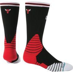 Stance Chicago Bulls On Court Logo Crew Socks, Adult Unisex, Size: Large, Team