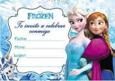Resultado de imagen para ideas para cumpleaños de frozen