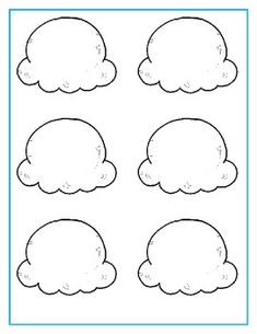 Ice Cream Incentives - My PinUse these ice cream cones and scoops to create fun incentives to motivate your students! Preschool Worksheets, Preschool Learning, Learning Activities, Toddler Activities, Preschool Activities, Summer Crafts For Kids, Craft Projects For Kids, Art For Kids, Ice Cream Crafts