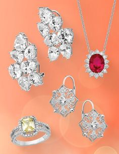 The Cheryl M collection delivers luxurious and unique jewelry designs perfect for any formal occasion—reasonably priced for the everyday woman. #QualityGold #CherylM #CubicZirconia #SterlingSilver #Jewelry #Trending #MulticoloredJewelry #BridalStyles #CocktailJewelry⠀⠀ Jewelry Design, Unique Jewelry, Cheryl, Jewelry Trends, Body Jewelry, Bridal Style, Jewels, Woman, Sterling Silver