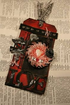 Tim Holtz February Challenge