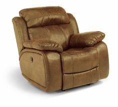 The Como Glider Recliner comes with Flexsteel's exclusive lifetime-guaranteed DualFlex spring system!