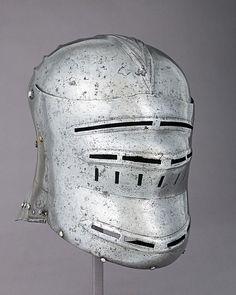 Sallet Date: ca. 1500–1510 Culture: German Medium: Steel, copper Dimensions: H. 10 1/2 in. (26.7 cm); W. 8 5/8 in. (21.9 cm); D. 12 1/8 in. (30.8 cm); Wt. 5 lb. 7 oz. (2461 g)