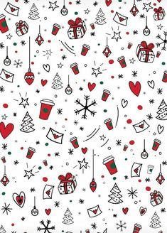 Cute Christmas Pattern Wallpapers Summer Bags In 2019