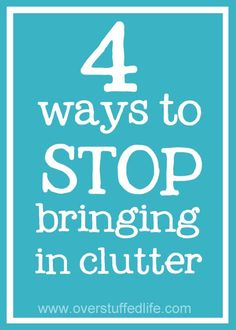 4 Ways to Stop Bring