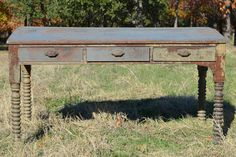 In love with this desk!!! Turn Of The Century Draftsman Desk by 107Vintage on Etsy