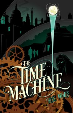 The Time Machine (Print) - RockPaperBooks