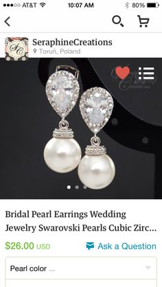 Some beautiful pearls for me to wear that go along with the pearl theme for my girls