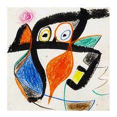 Femme, 1975, Joan Miro