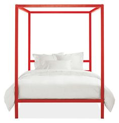Architecture Bed in Color - Kids Collection -  Room & Board - Queen Size - Big Kids, Too!
