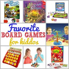 Favorite Board Games for Kids Under 10
