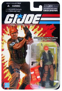 G.I. Joe, Engineering & Installation specialist - Codename: Cable DAWG