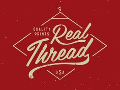 Quality Prints / real thread / logo / pinned on Toby Designs