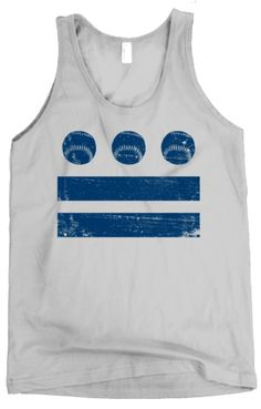 Our Navy/Silver Tank DC Baseball Flag Tank. Great for #summer #dc #baseball