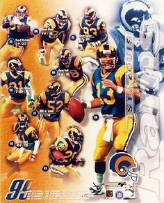 7b7a98092 Super Bowl Xxxiv, Super Bowl Winners, La Rams, American Football, Football  Team