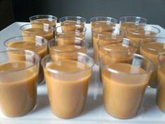 Bailey's Pudding Shots for St. Patty's (inspired by @Caitlin Link)