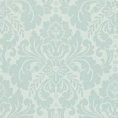Richmond (212150) - Sanderson Wallpapers - Richmond is a classic, medium scale damask that has been designed as an easy background to any scheme. Shown here in scotch grey - more colours are available. Please request a sample for true colour match. Paste-the-wall product.
