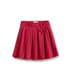 Silky Skirt - Red Cardinal - Our selections - Obaïbi & Okaïdi