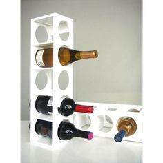 White Rutherford Wine Racks (Set of 2)   Overstock.com