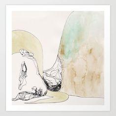 girl, watercolour