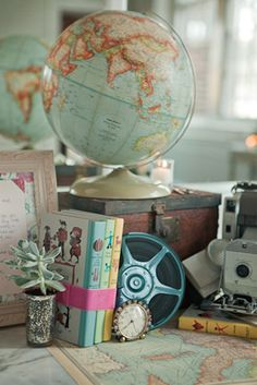 Need to incorporate globes into our wedding!