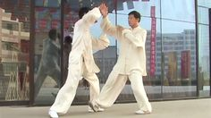 Revel in the beauty of T'ai Chi.  Feel its power, too, as you practice it on your own (solo form) or with a partner (Push Hands)