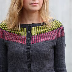 Ravelry: Briyoke pattern by Matilda Kruse Free Knitting, Knitting Patterns, Sweater Cardigan, Men Sweater, Martin St, Little Miss Sunshine, Sport Weight Yarn, Knit In The Round, Matilda