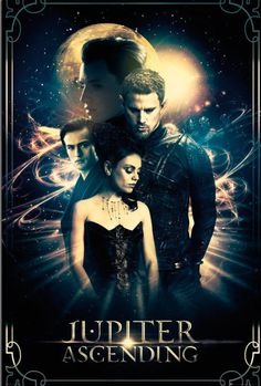 A poster for Jupiter Ascending. I have several issues with this poster, the main one being Kalique's absence - you have the brothers, why not the sister? Also, this poster basically makes me want to ask for all of the individual photos they composited together.