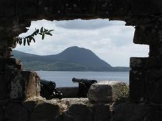 Fort Shirley in Dominica: This English colonial fort is among the ruins found at the Cabrits Historical and Marine Park, which preserves remnants of the islands tumultuous history.