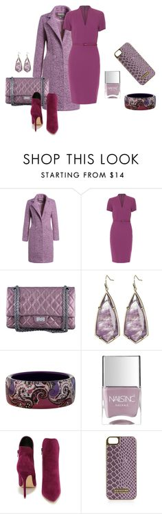 """Untitled #1201"" by bsimon623 ❤ liked on Polyvore featuring мода, MaxMara, Chanel, Kendra Scott, Etro, Nails Inc., Liliana и Topshop"