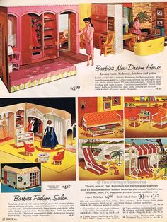 Barbie Dream House 1964