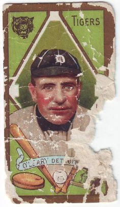Poor Old Baseball Cards: 1911 T205 Charles O'Leary