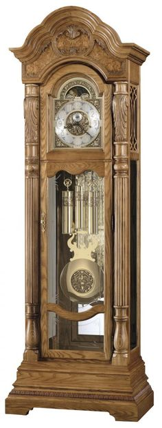 Found it at Clockway.com - Howard Miller Nicolette Triple Chiming Presidential Grandfather Clock - CHM1052