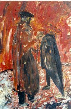 Gerard's Deliverance Original Signed Painting by Jack Kerouac