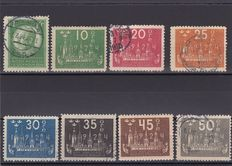Sweden 1920/24 - a small collection on Stockcard