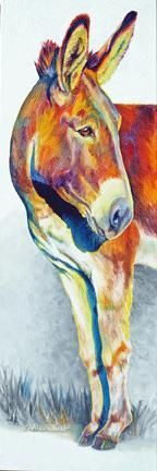 Sharon Markwardt Equine and animal oil paintings