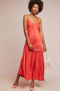Mara Hoffman Seraphina Slip Dress, presented by Anthropologie. Our go-to for weddings and soirees? A slimming slip dress in a bold hue. Mara Hoffman, Slip Dress Outfit, Dress Outfits, Boho Dress, Club Dresses, Sexy Dresses, Unique Dresses, Party Dresses, Vestidos Sexy