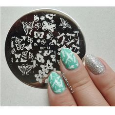 Various-Butterfly-Nail-Art-Stamping-Template-Image-Plate-BORN-PRETTY-BP74.jpg (600×600)